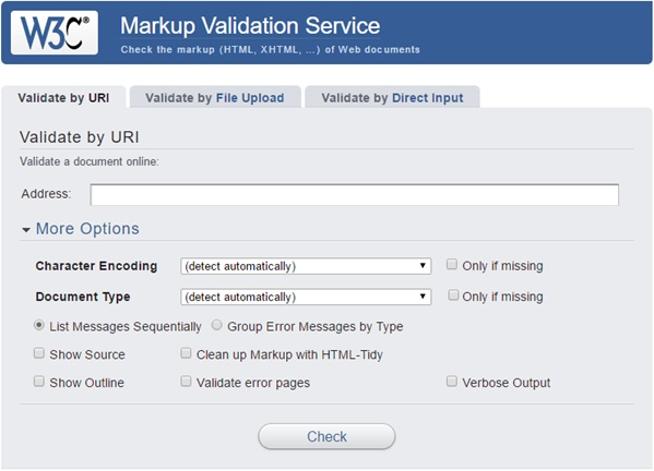 W3C Validation Service
